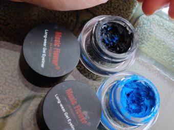 Music Flower Gel Eyeliner -Affordable Gel Eyeliner With Great Pigment-By shruti_beautyblogger
