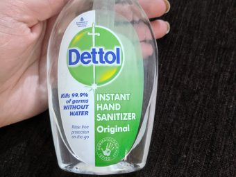 Dettol Instant Hand Sanitizer -Alcohol Disinfectant Hand Sanitizer-By smritireviewer