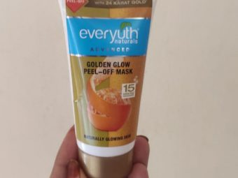 Everyuth Naturals Advanced Golden Glow Peel-off Mask -Instant golden glow-By zeba_s