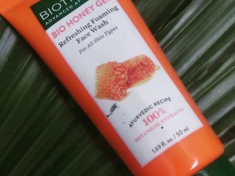 Biotique Bio Honey Gel Refreshing Foaming Face Cleanser pic 1-Mild facewash-By reviewingindian