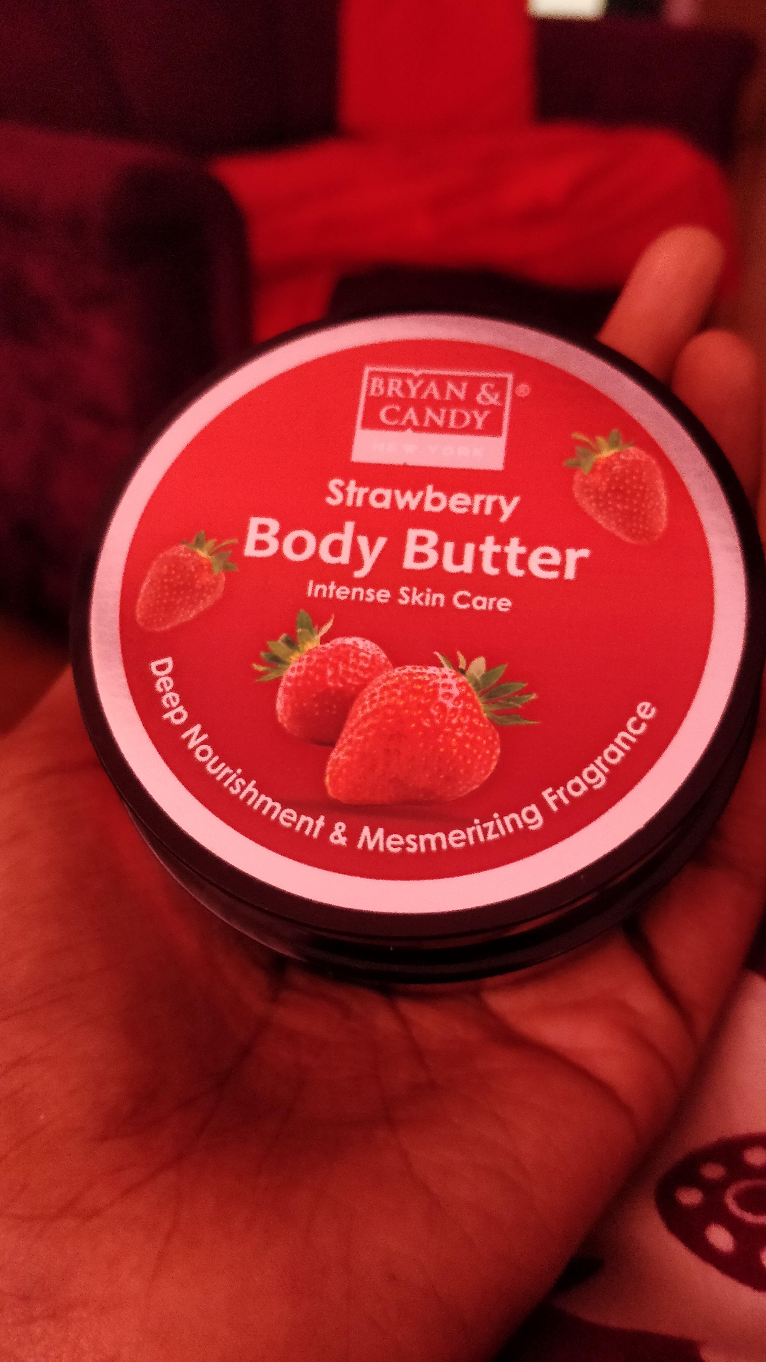 Bryan & Candy New York Strawberry Body Butter -Hydrating Body Butter-By christy_jose