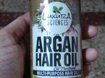 Luxura Sciences Argan Hair Oil 200 ml -The besst!!!-By __the_rapunzelll__