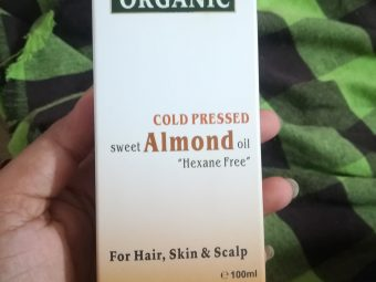 Indus Valley Cold Pressed Sweet Almond Oil -Super affordable product-By vaishnavi11