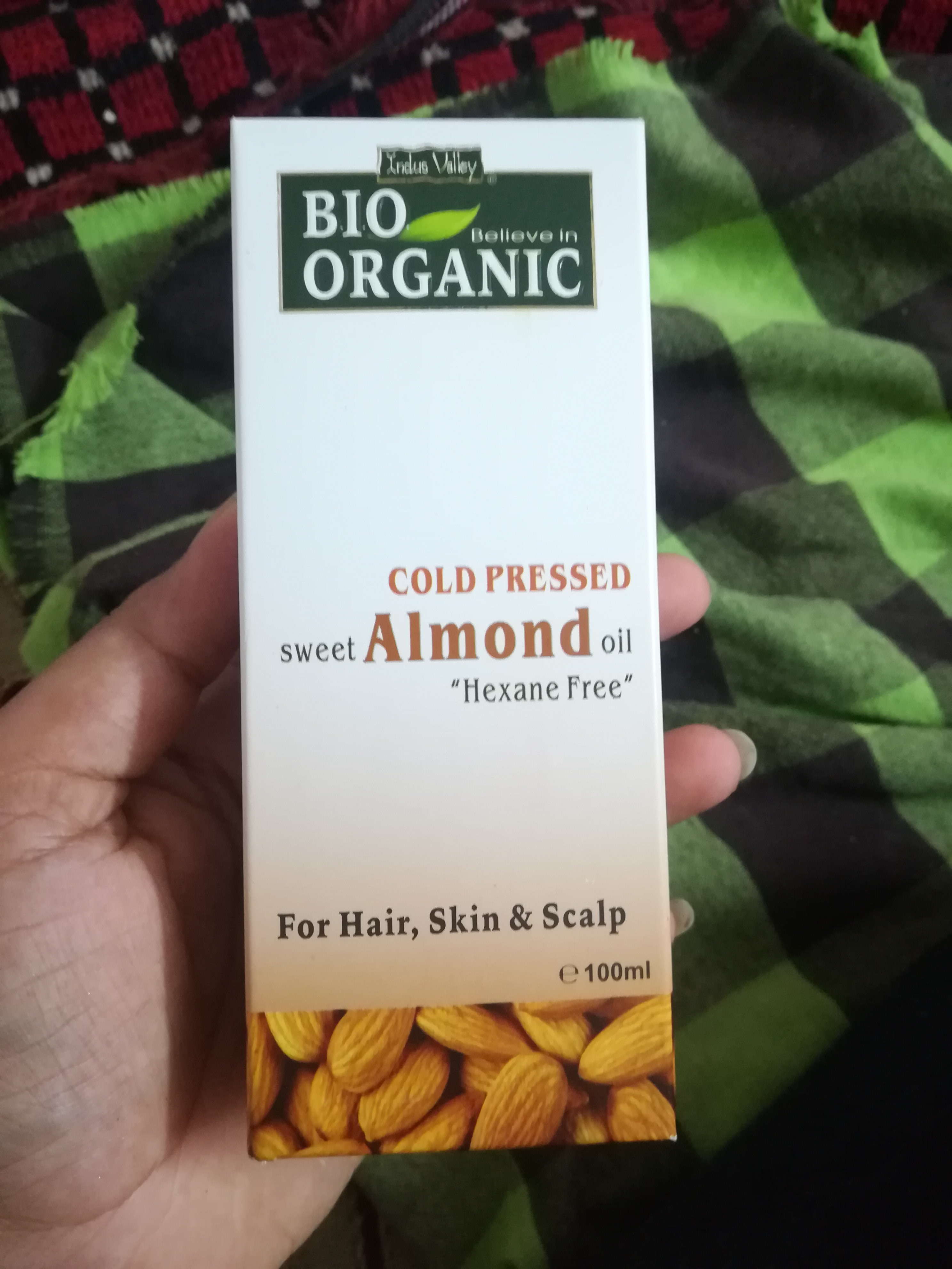 Indus Valley Cold Pressed Sweet Almond Oil-Super affordable product-By vaishnavi11
