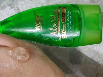 WOW Skin Science Aloe Vera Gel -Purest form of aloevera Gel-By shruti_beautyblogger