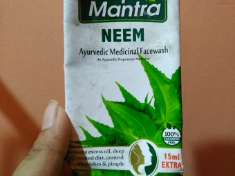 Roop Mantra Neem Face Wash -Best for oily and acne prone skin-By payel123