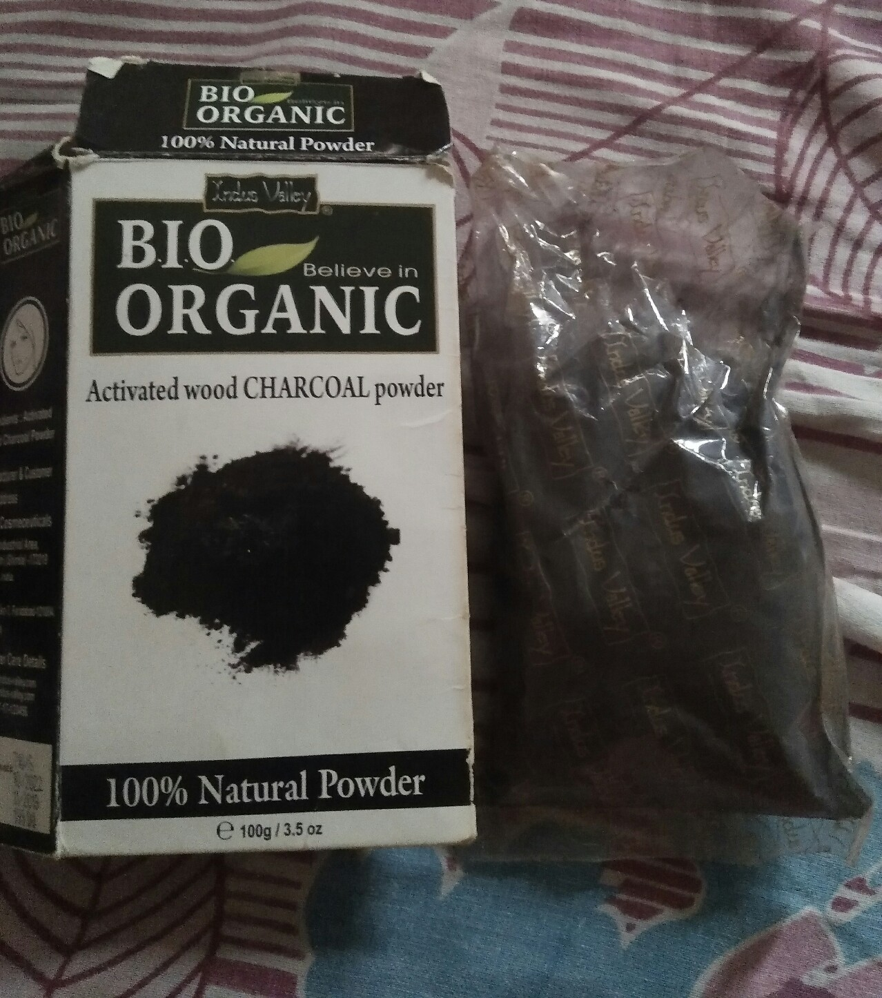 Indus Valley 100% Natural Activated Charcoal Powder pic 2-Skin detoxing-By niharika9