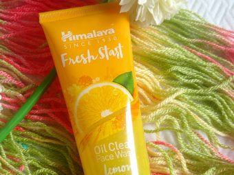 Himalaya Herbals Fresh Start Oil Clear Lemon Face Wash -Best for oily skin-By reny