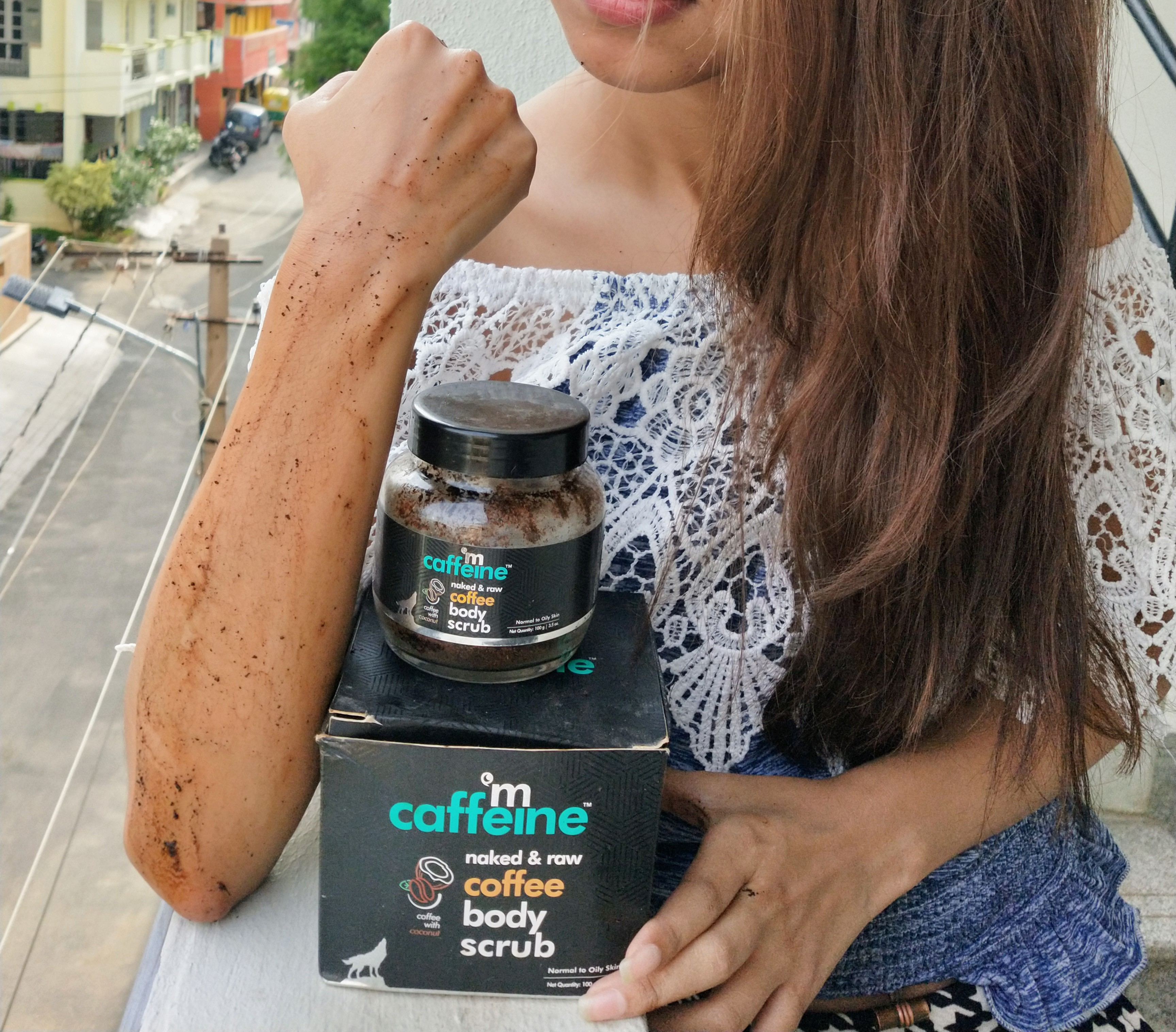 MCaffeine Naked & Raw Coffee Body Scrub-Amazing body exfoliator to get rid of tanning and dead skin-By miss_hungry_soul-1