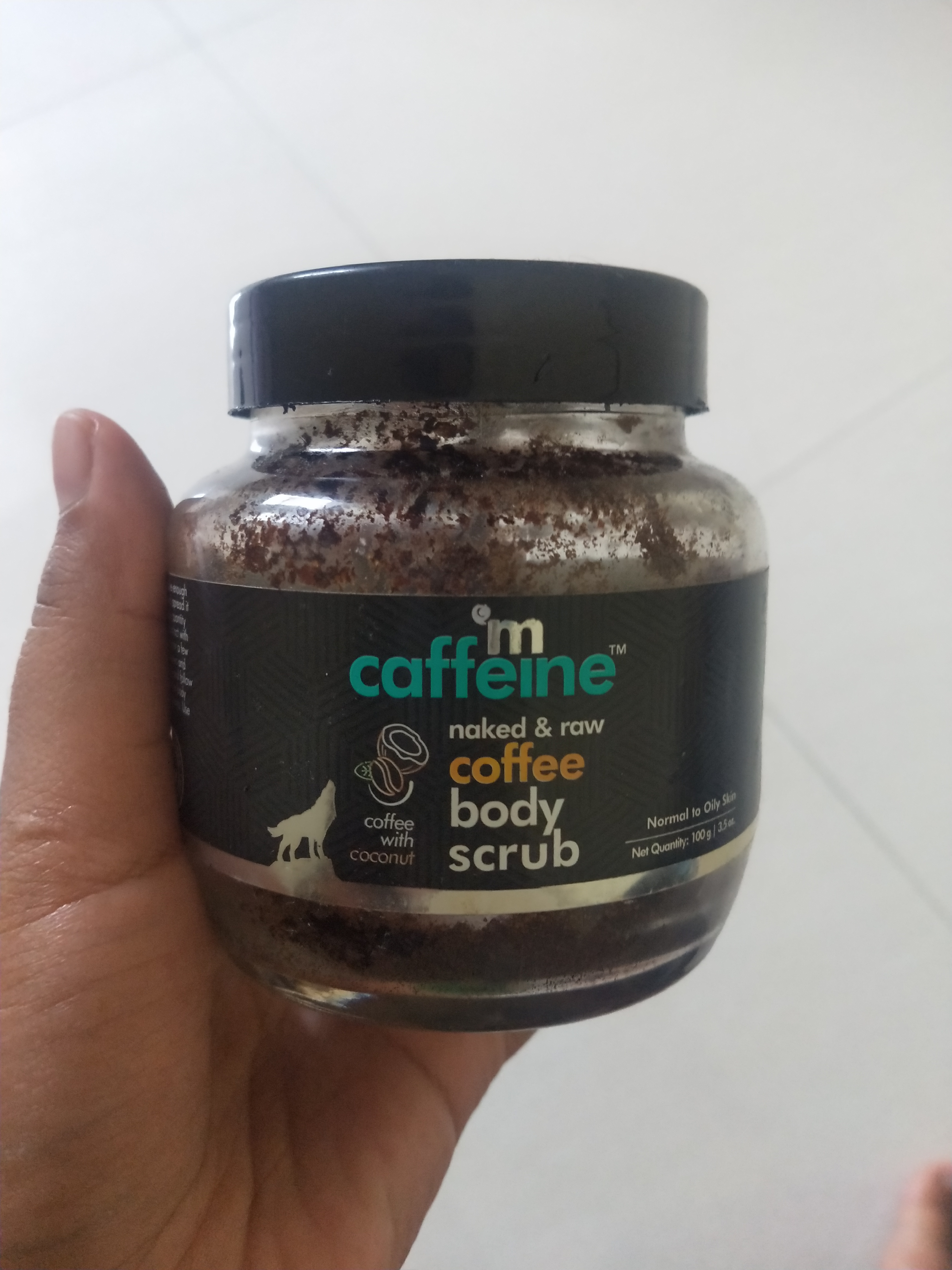 MCaffeine Naked & Raw Coffee Body Scrub-Amazing body exfoliator to get rid of tanning and dead skin-By miss_hungry_soul-3