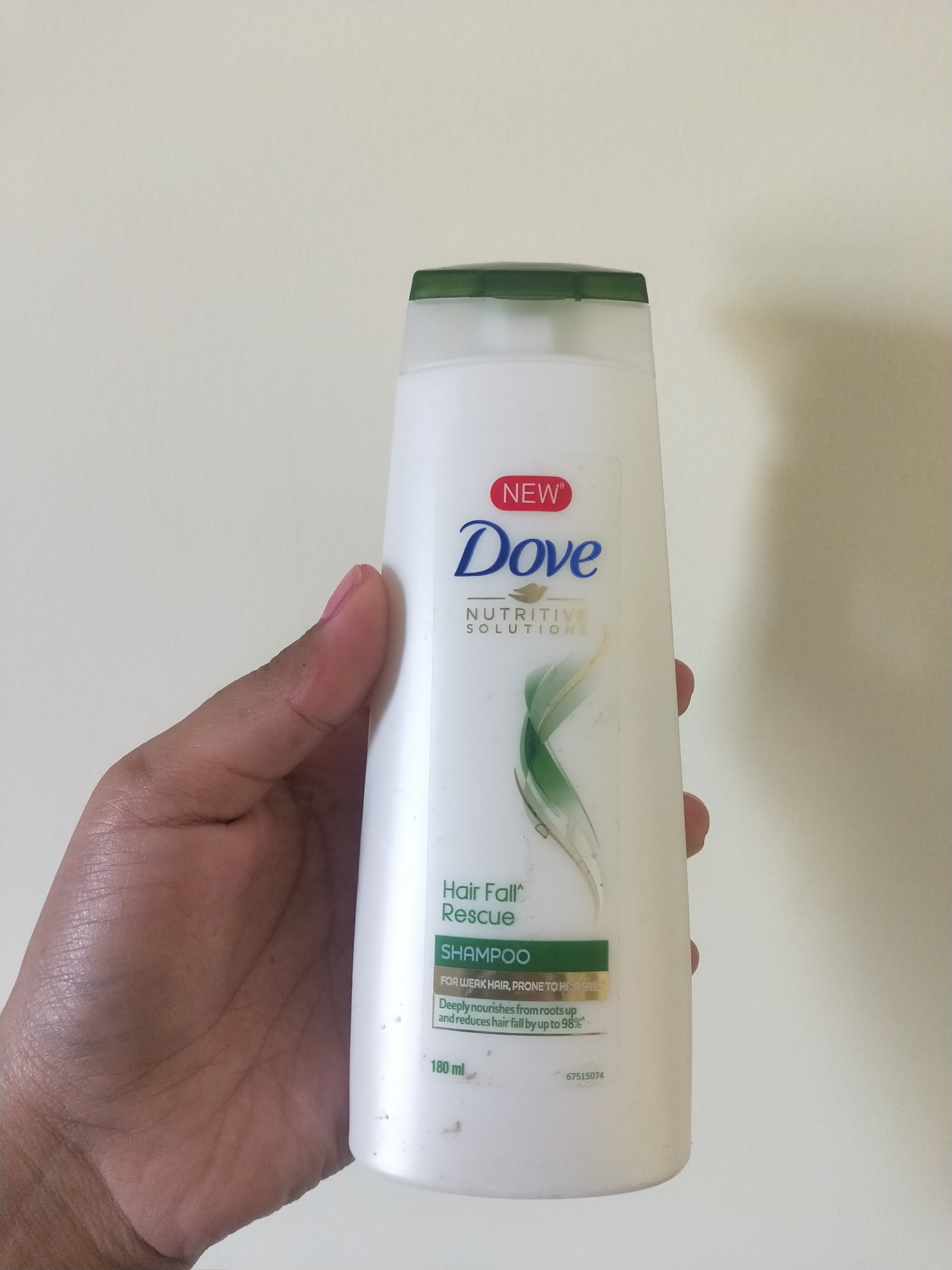Dove Hair Fall Rescue Shampoo-Controls hairfall and frizz-By miss_hungry_soul-1