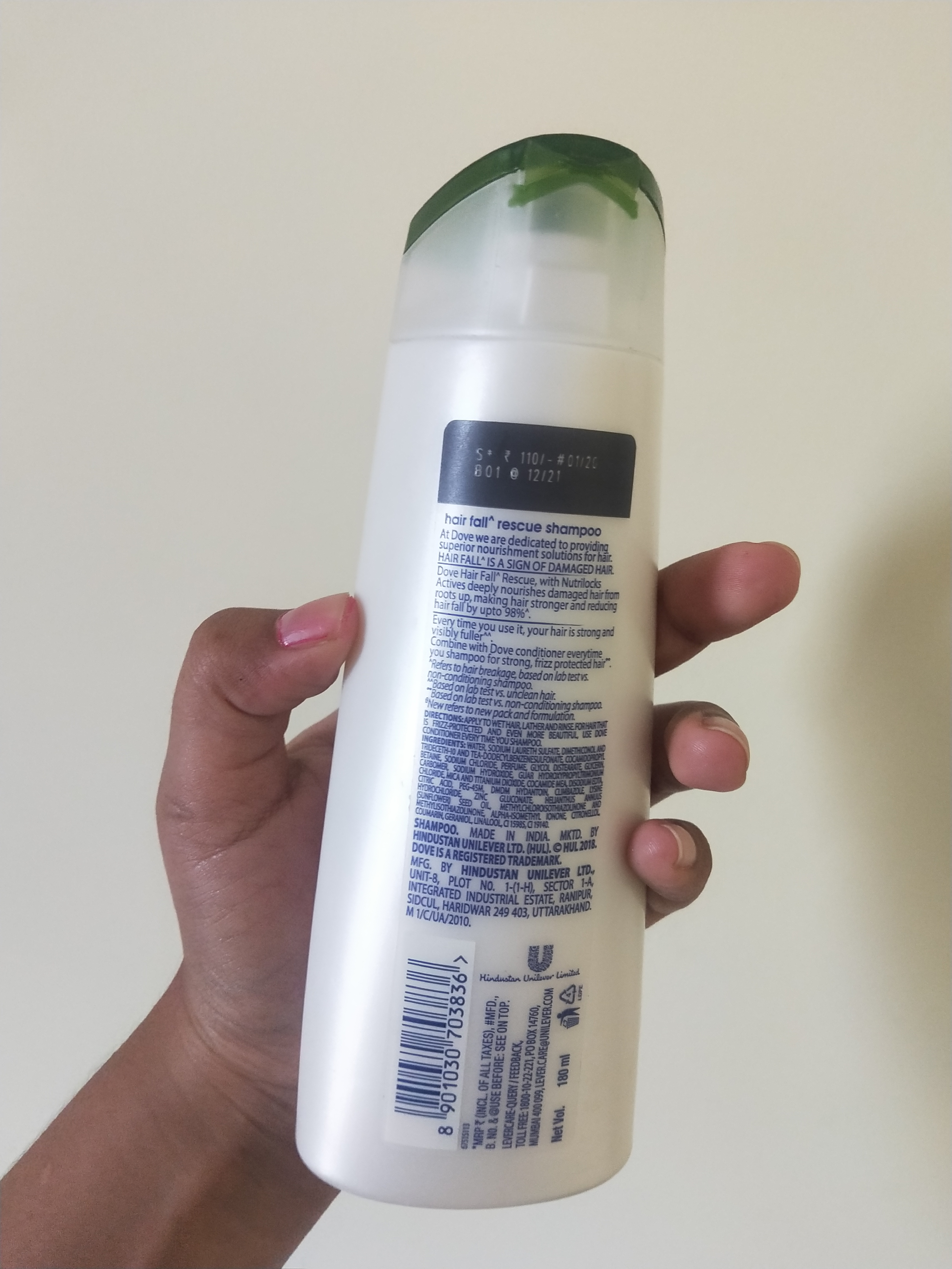 Dove Hair Fall Rescue Shampoo pic 2-Controls hairfall and frizz-By miss_hungry_soul