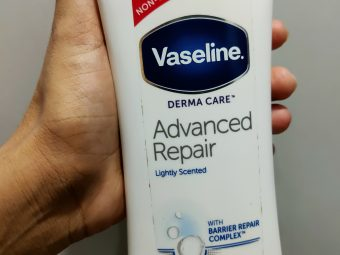 Vaseline Intensive Care Advanced Repair Body Lotion -Suitable for dry skin-By ritu28