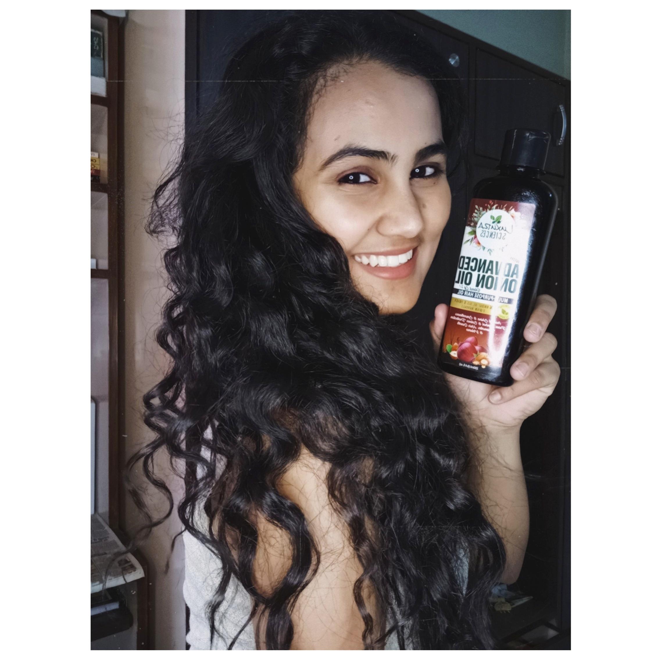 Luxura Sciences Advanced Onion Oil 250 ml-Multi purpose hair oil-By shwetasaini-2