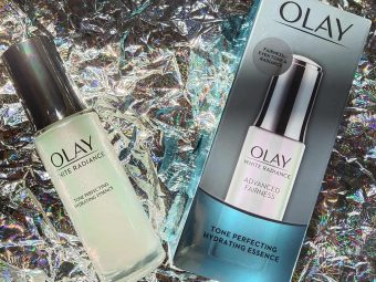 Olay White Radiance Advanced Fairness Tone Perfecting Hydrating Essence -Great serum-By tannutanya26