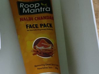 Roop Mantra Haldi Chandan Face Pack -Natural facepack gives a glowing skin-By sneha8620