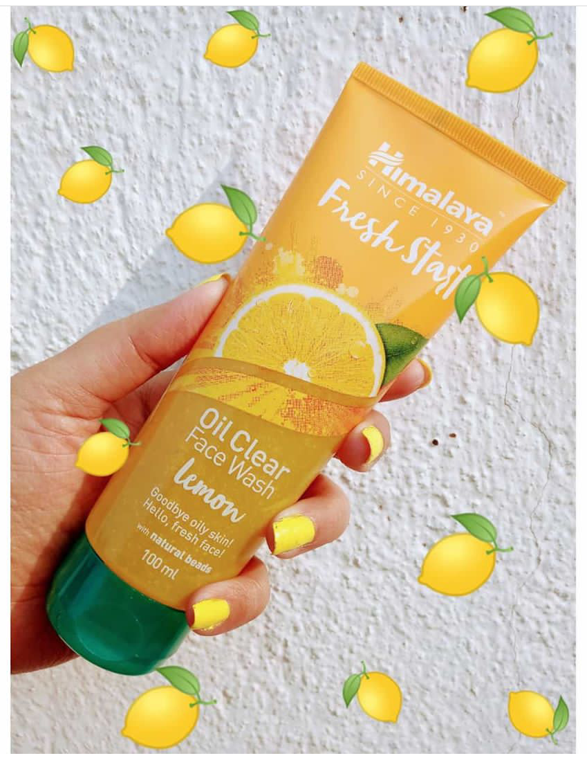 Himalaya Herbals Fresh Start Oil Clear Lemon Face Wash -Good fashwash-By sonam22