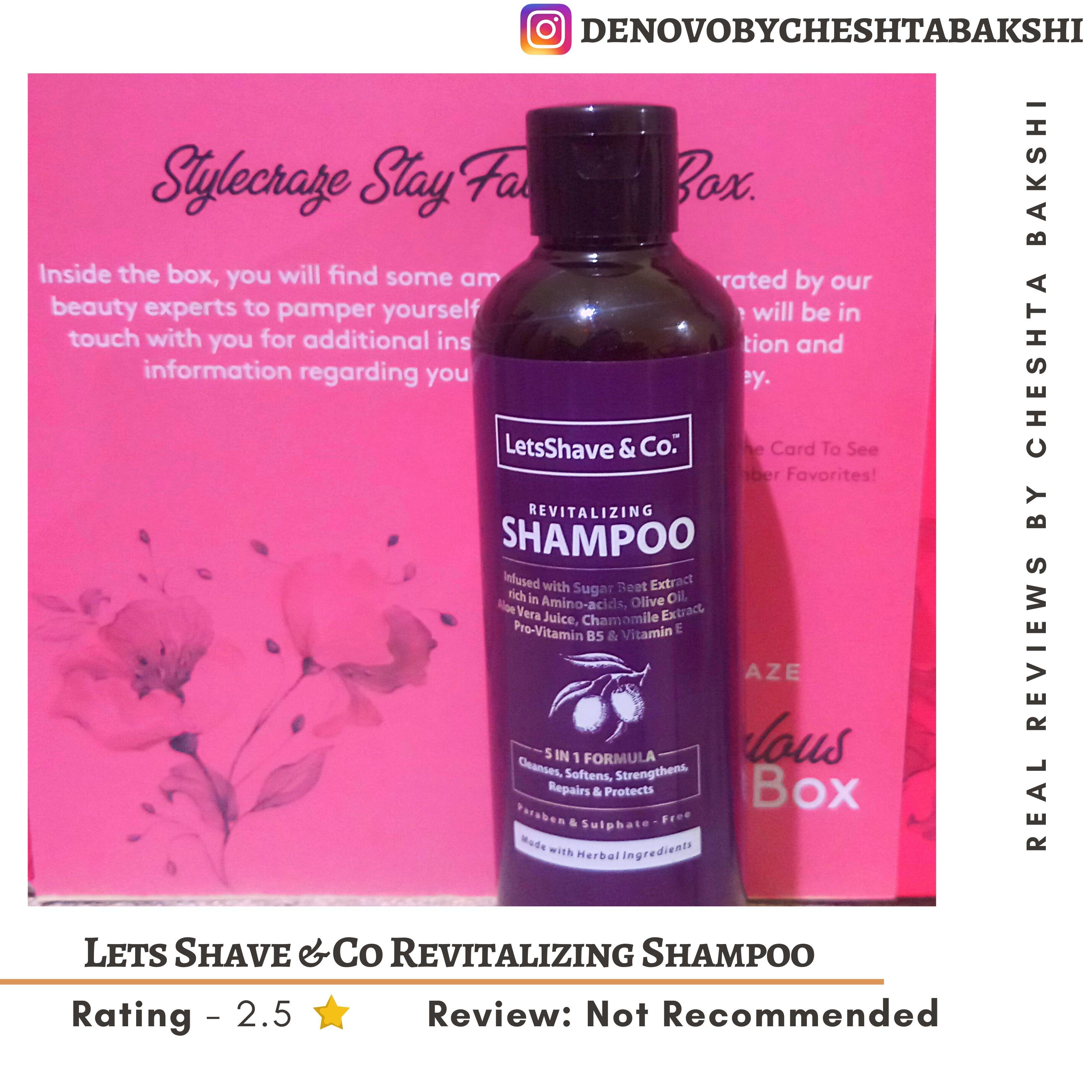 LetsShave Shampoo Conditioner Pack-An Average Product-By cheshta_bakshi