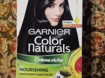 Garnier Color Naturals Creme Hair Color pic 2-color hair and make hair silky-By beauty_bliss2020