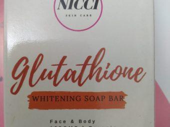 Nicci Glutathione Whitening Soap -Best Organic Soap-By heena02