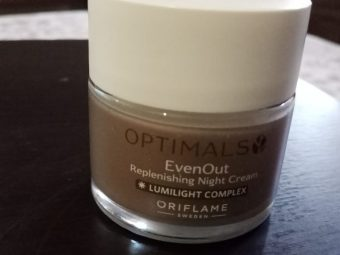 Oriflame Optimals Even Out Night Cream -Oriflame Optimals Even Out Night Cream-By beauty_bliss2020