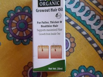 Indus Valley Bio Organic Growout Hair Oil -Growout Hair OIl-By beauty_bliss2020