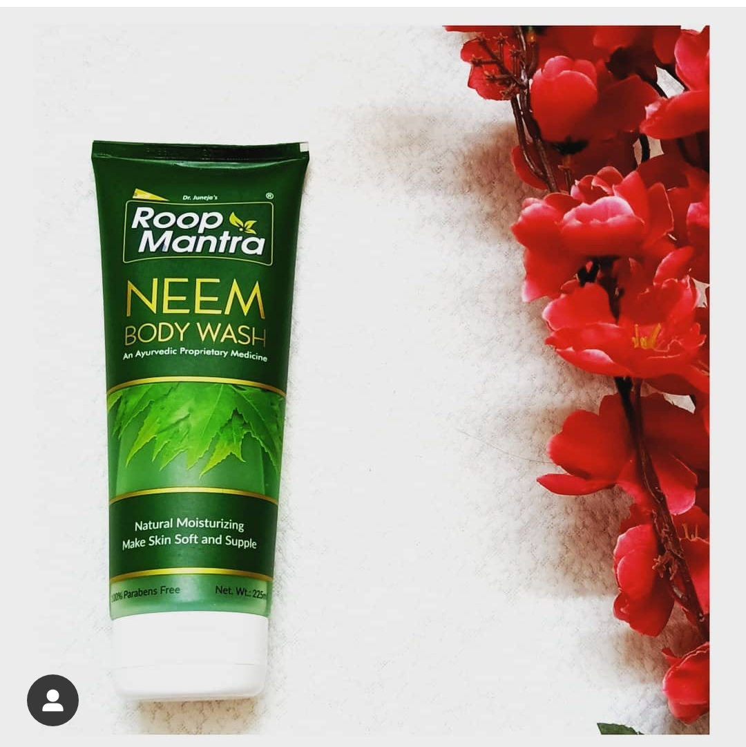 Roop Mantra Neem Body Wash-BODY WASH WITH NO HARSH CHEMICALS-By swatisingh