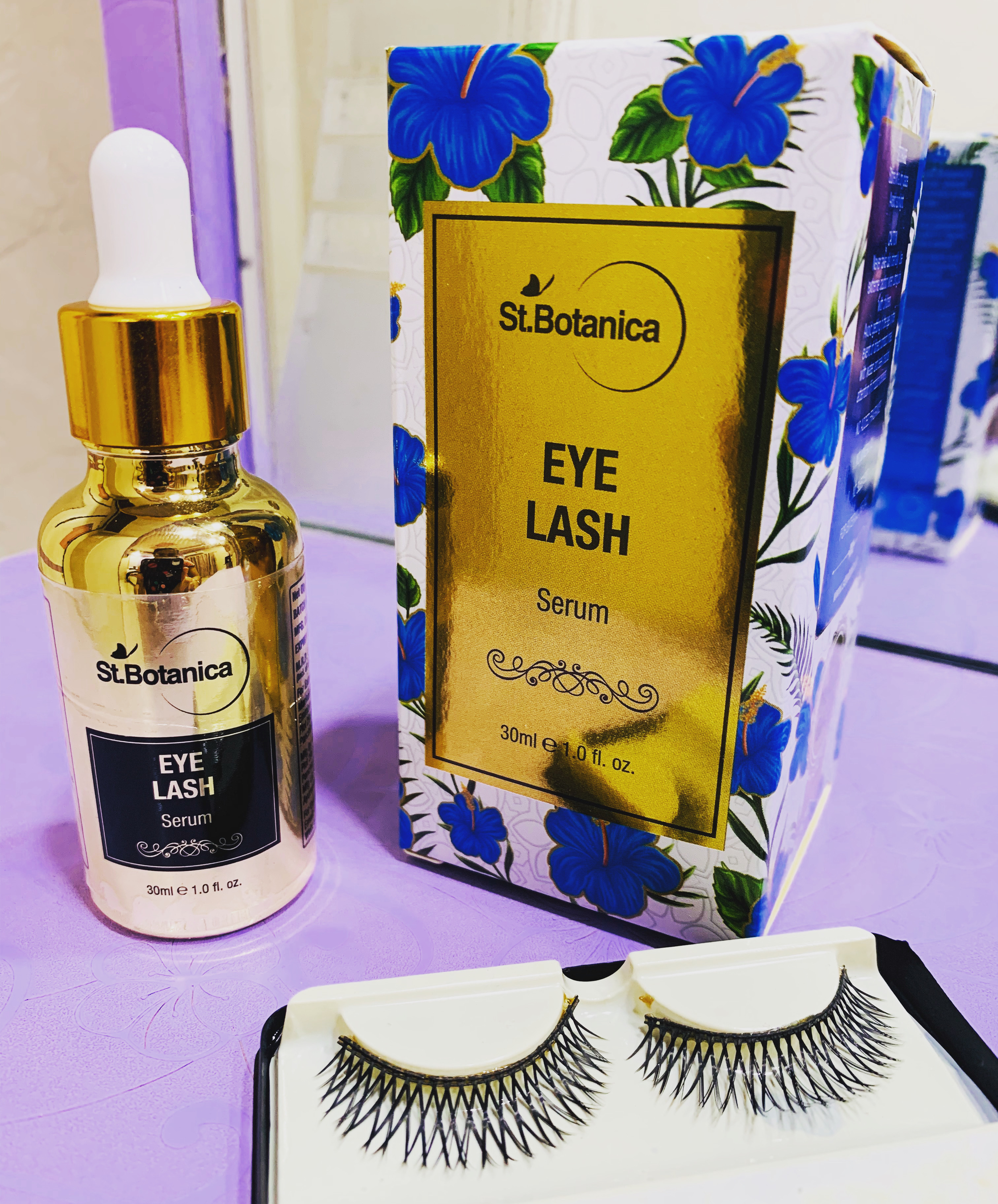 St.Botanica Eyelash Growth Serum-Works Like an Eyelash Primer!-By anmol_mulchandani
