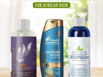 10 Best Anti-Dandruff Shampoos For African Hair