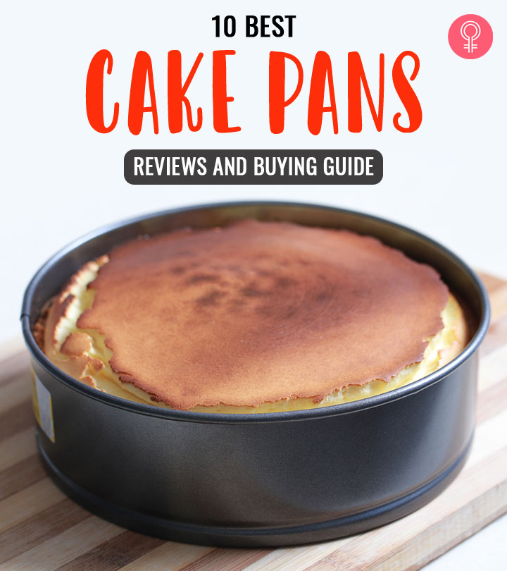 10 Best Cake Pans Of 2021 – Reviews And Buying Guide