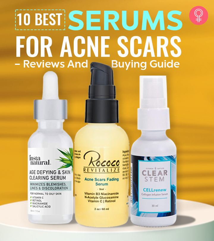10 Best Serums For Acne Scars – Reviews And Buying Guide
