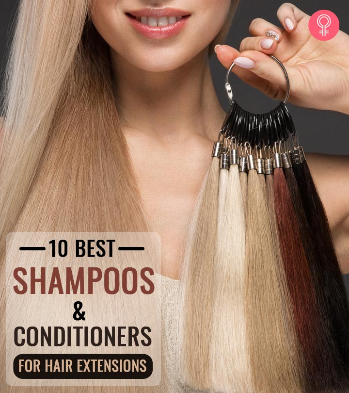 10 Best Shampoos And Conditioners For Hair Extensions