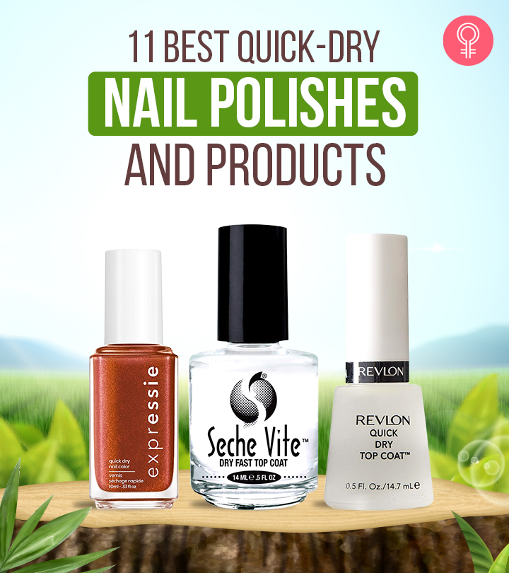 11 Best Quick-Dry Nail Polishes And Products To Buy Online – 2020