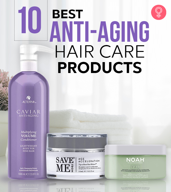 15 Best Anti-Aging Hair Care Products
