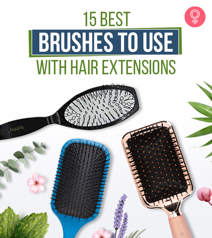 15 Best Brushes To Use With Hair Extensions