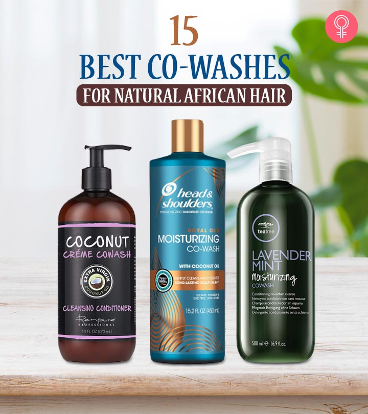 15 Best Co-Washes For Natural African Hair
