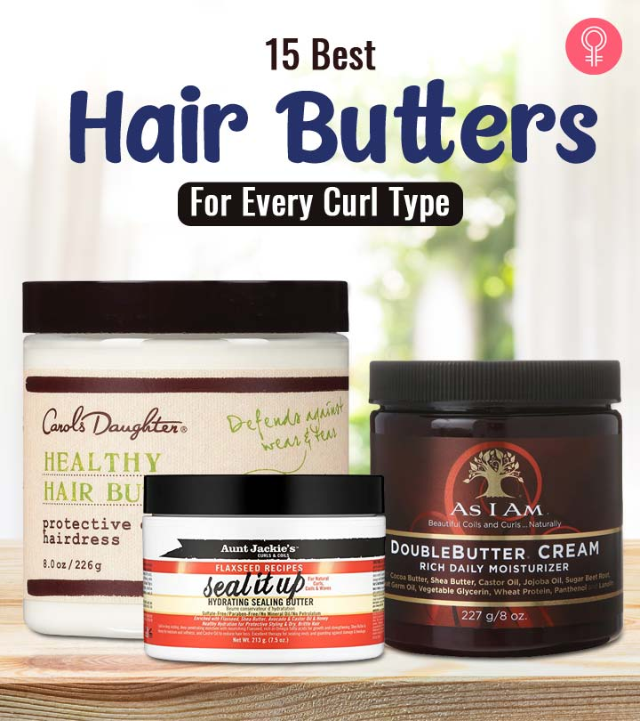 15 Best Hair Butters For Every Curl Type