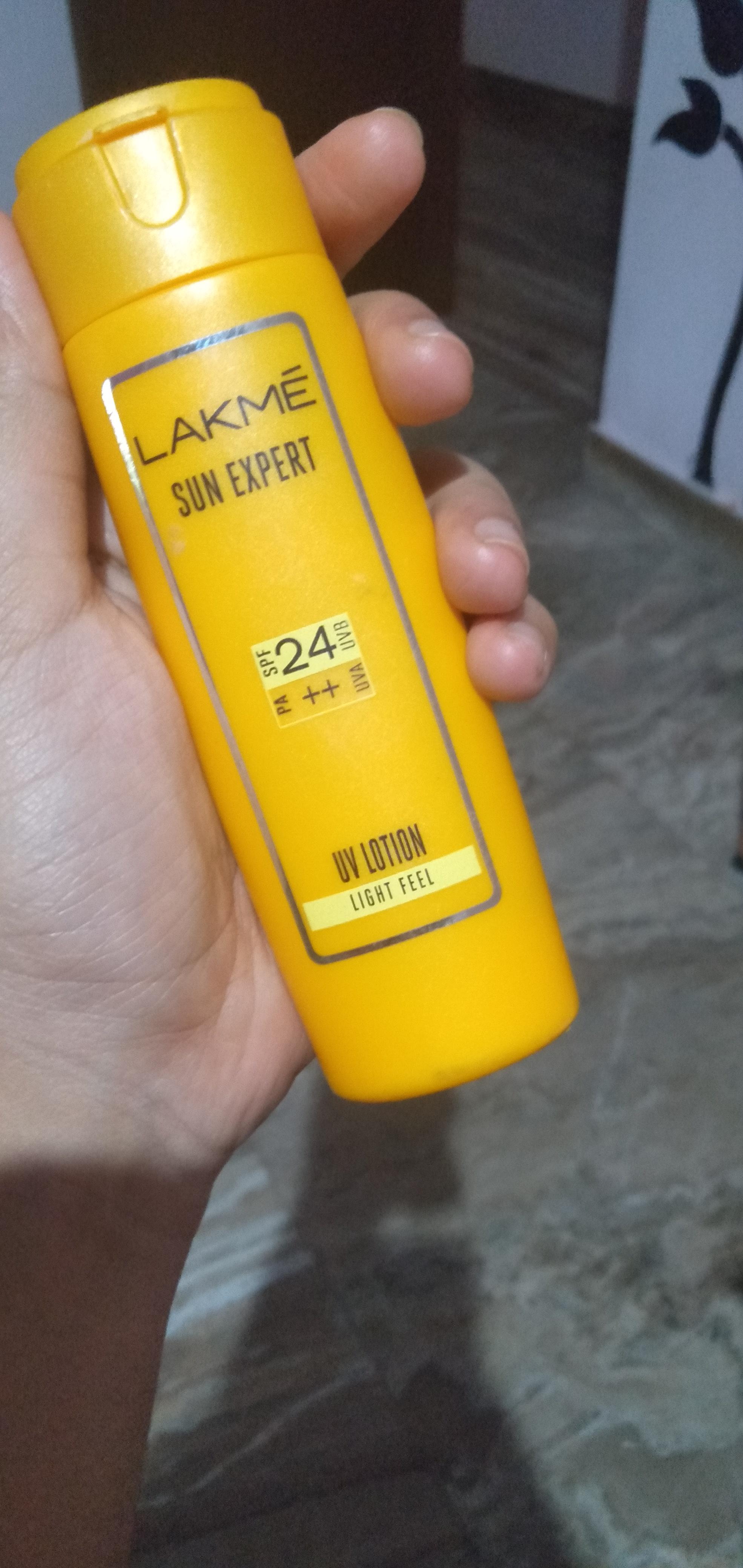 Lakme Sun Expert SPF 24 PA++ UV Lotion-Best to use-By meghavj-2