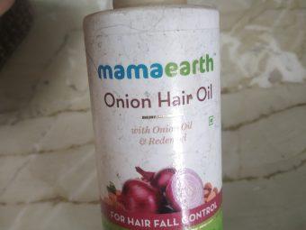MamaEarth Onion Hair Oil -Good oil for hair fall-By shilpamittal