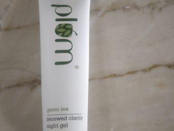 Plum Green Tea Renewed Clarity Night Gel -Awesome night gel-By shilpamittal