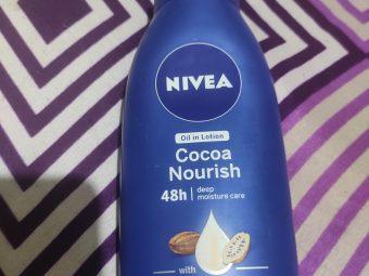 Nivea Cocoa Nourish Body Lotion -Nivea body lotion amazing partner for winters-By rahela_khanam