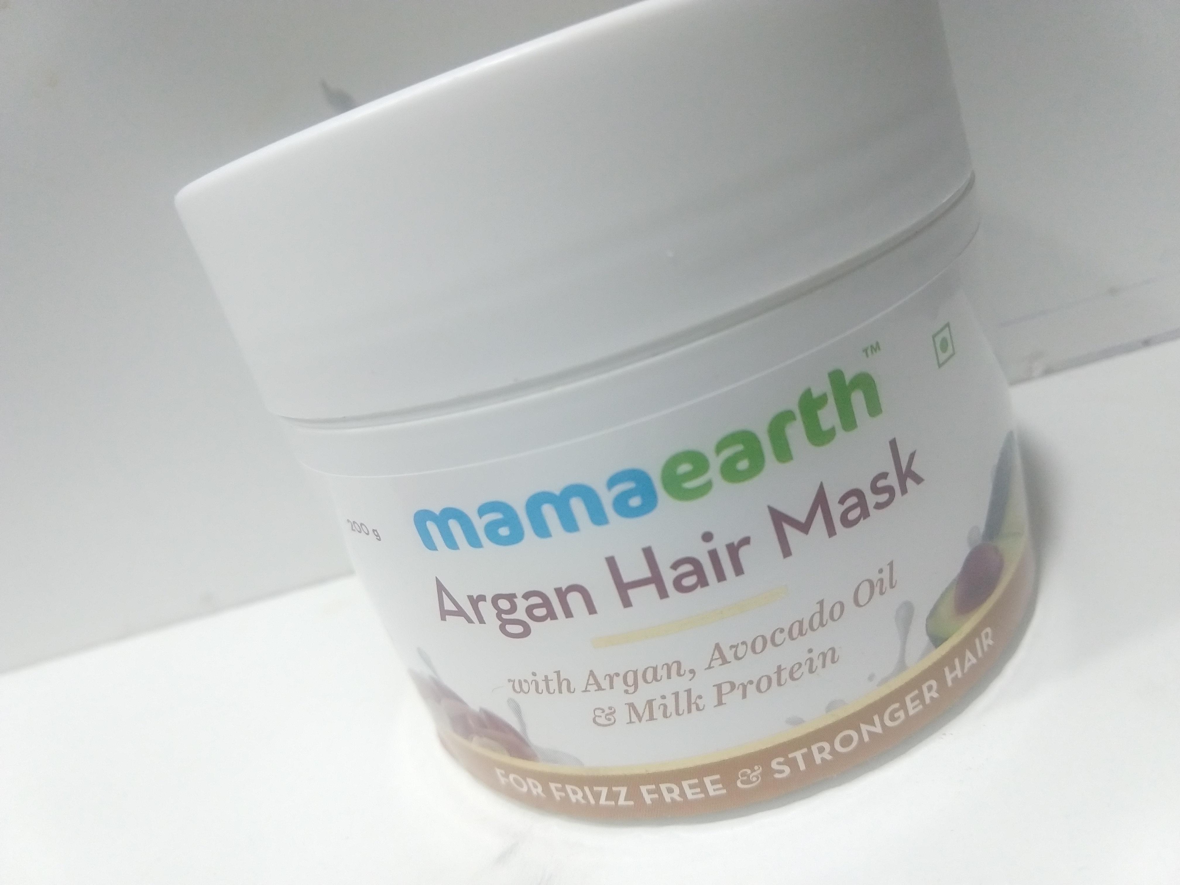 Mamaearth Argan Hair Mask-My Hair Saviour-By tipsybylooks-1