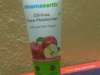 Mamaearth Oil Free Face Moisturizer With Apple Cider Vinegar -Perfect moisturizer-By supriya_lodhi
