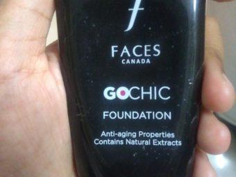 Faces Go Chic Foundation -Nice foundation-By supriya_lodhi