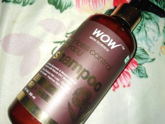 Wow Skin Science Hair Loss Control Therapy Shampoo -Best Shampoo Ever Used-By amisha1999