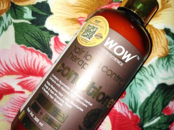 WOW HAIR LOSS CONTROL THERAPY CONDITIONER -A Conditioner with All Your Hair Solutions-By amisha1999