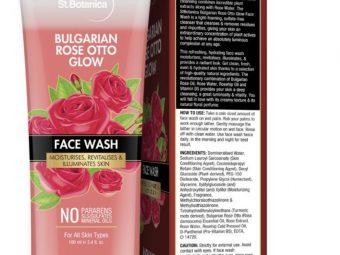 StBotanica Bulgarian Rose Otto Glow Face Wash -Glowy Looking Skin-By shifapochi