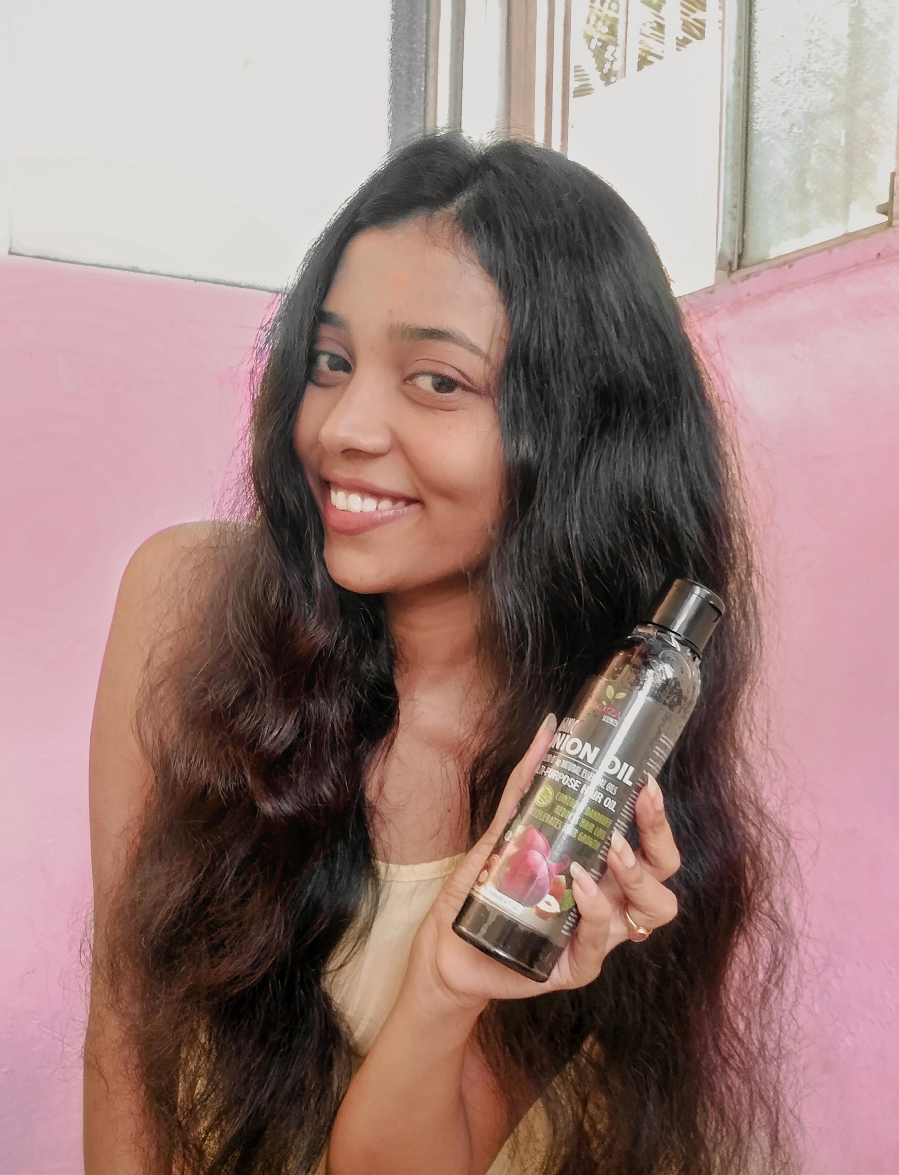 Luxura Sciences Onion Hair Oil 250 ml-Goodness of Onion-By soumita_samanta_-1