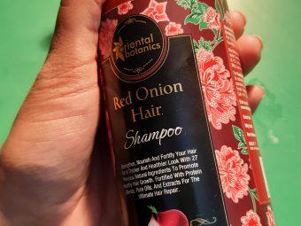 Oriental Botanics Onion Hair Care Combo   Red Onion Hair Shampoo + Red Onion Hair Oil pic 2-Amazing for Hair growth-By neha_radio