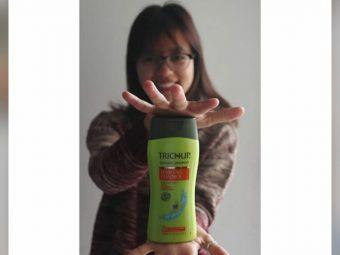 Trichup Hair Fall Control Shampoo -Love it-By akum